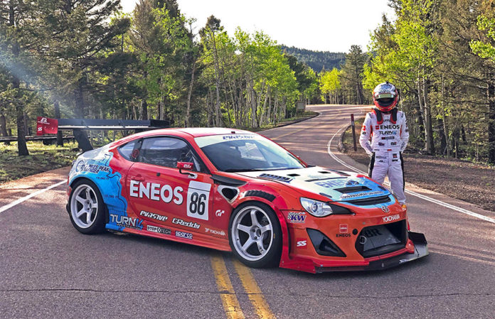 Dai Yoshihara ENEOS Pikes peak International Hill Climb 1