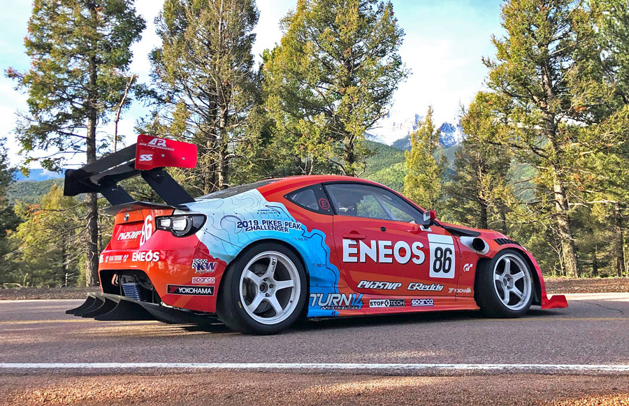 Dai Yoshihara ENEOS Pikes peak International Hill Climb 2