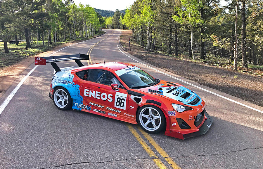 Dai Yoshihara ENEOS Pikes peak International Hill Climb 3