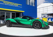 Dendrobium D-1 Electric Hypercar at 24 Hours of Le Mans