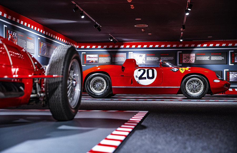 Scuderia Ferrari Anniversary 90 Years Exhibition 10
