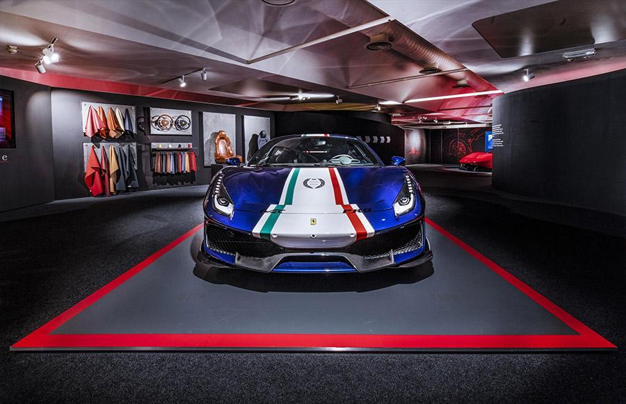 Scuderia Ferrari Anniversary 90 Years Exhibition 11