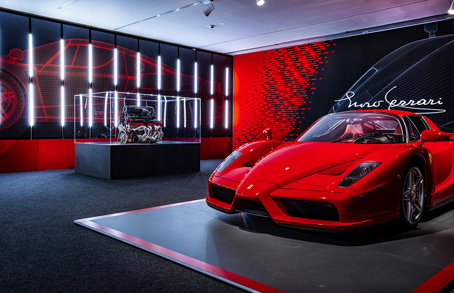 Scuderia Ferrari Anniversary 90 Years Exhibition 14