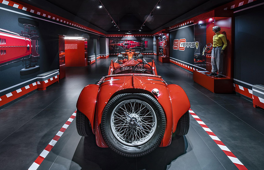 Scuderia Ferrari Anniversary 90 Years Exhibition 15
