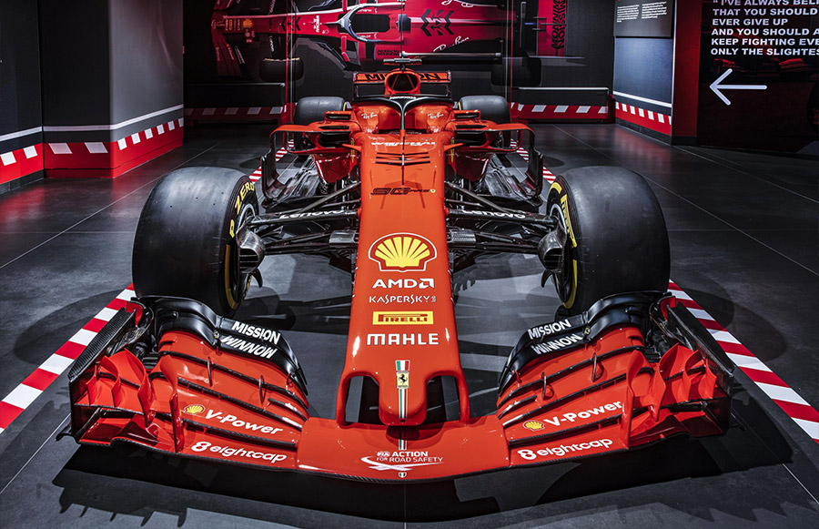 Scuderia Ferrari Anniversary 90 Years Exhibition 2