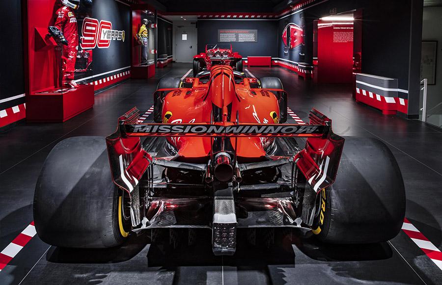 Scuderia Ferrari Anniversary 90 Years Exhibition 3