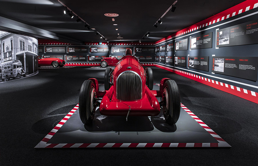 Scuderia Ferrari Anniversary 90 Years Exhibition 4