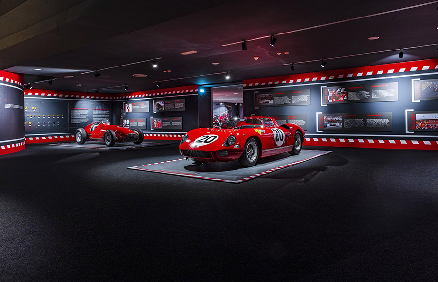 Scuderia Ferrari Anniversary 90 Years Exhibition 5