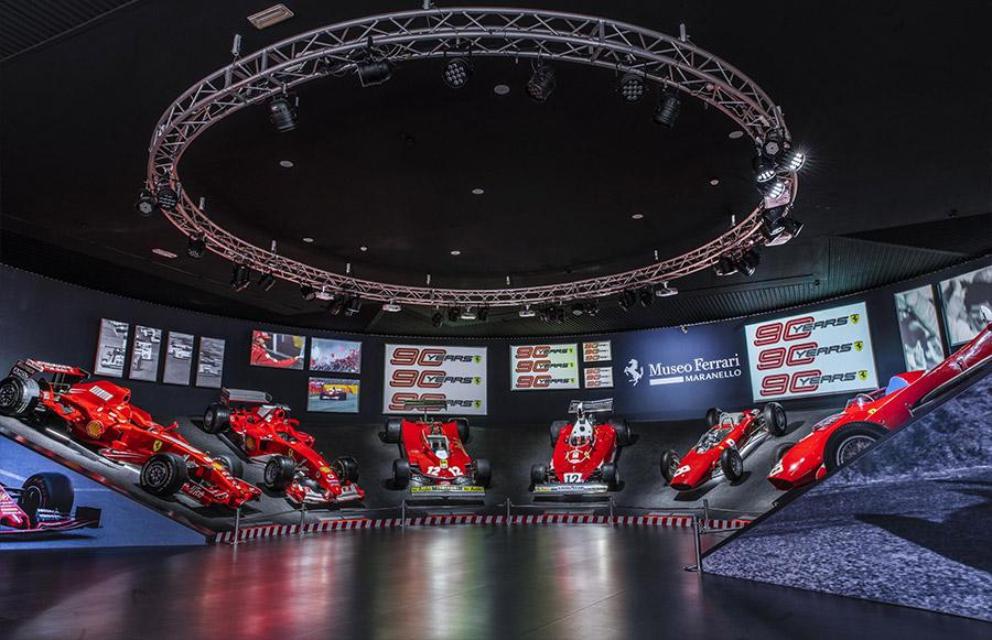 Scuderia Ferrari Anniversary 90 Years Exhibition 6