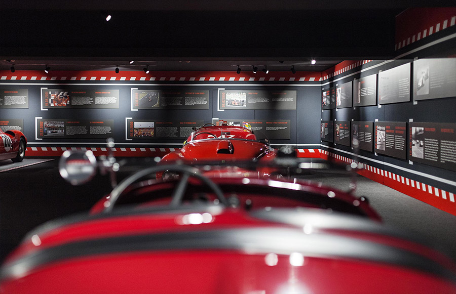 Scuderia Ferrari Anniversary 90 Years Exhibition 7