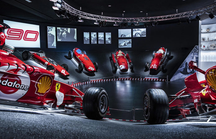 Scuderia Ferrari Anniversary 90 Years Exhibition 8