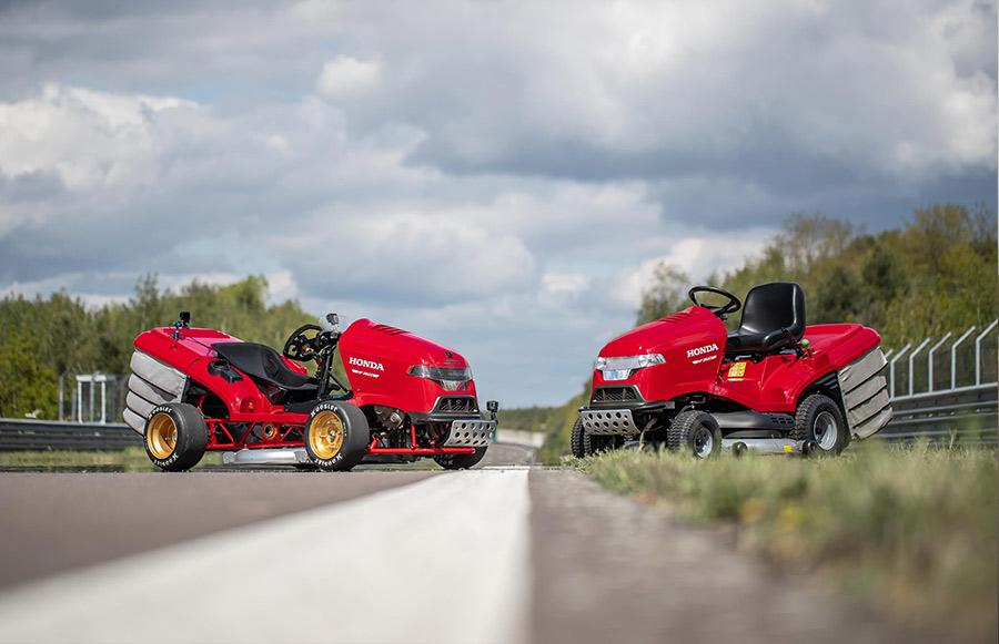Honda Mean Mower Guiness World Records 4