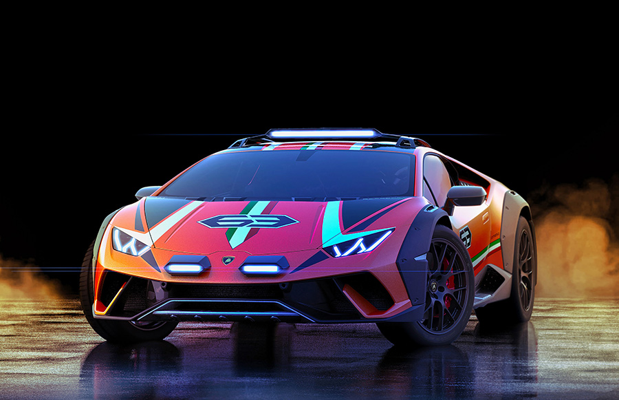 Lamborghini Huracán Sterrato Concept 1