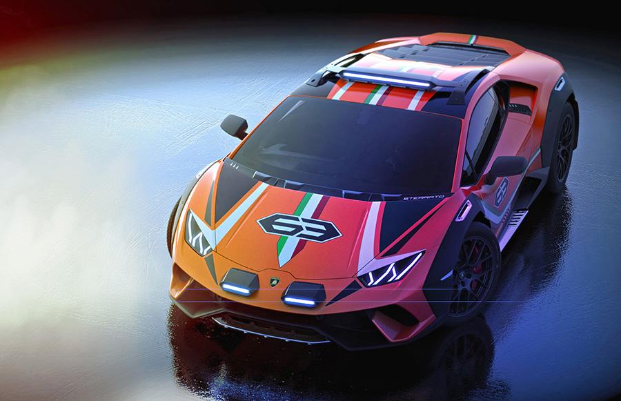Lamborghini Huracán Sterrato Concept 2