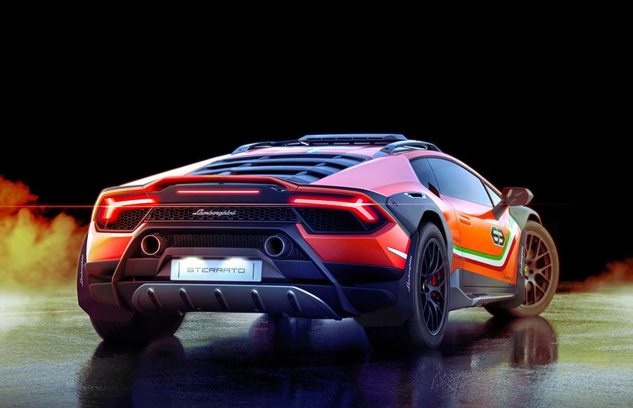 Lamborghini Huracán Sterrato Concept 4