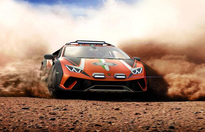 Lamborghini Huracán Sterrato Concept 5