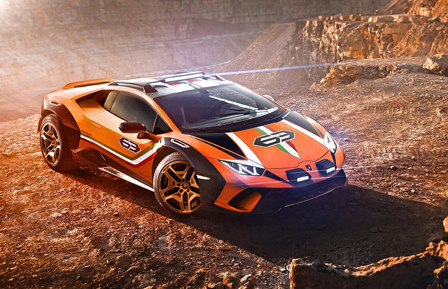 Lamborghini Huracán Sterrato Concept 7