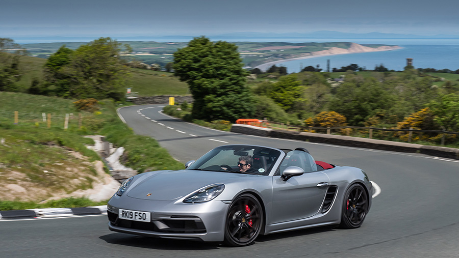 Mark Higgins Isle of Man TT Course Porsche 718 Boxster GTS 10