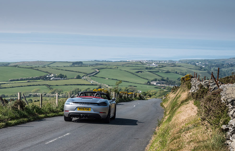 Mark Higgins Isle of Man TT Course Porsche 718 Boxster GTS 2