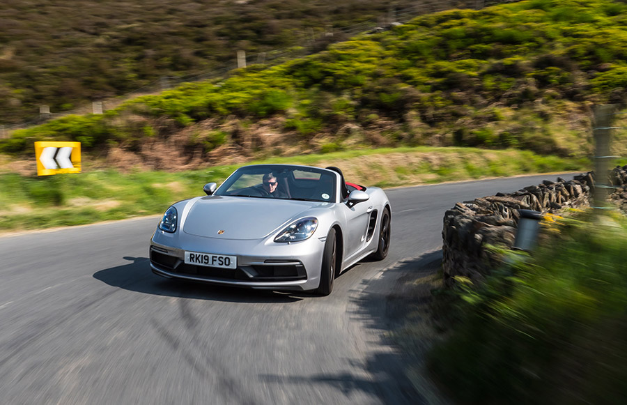 Mark Higgins Isle of Man TT Course Porsche 718 Boxster GTS 3