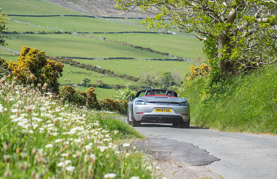 Mark Higgins Isle of Man TT Course Porsche 718 Boxster GTS 4