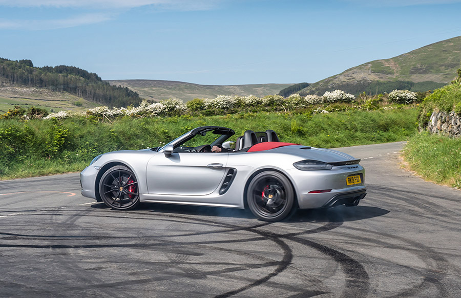 Mark Higgins Isle of Man TT Course Porsche 718 Boxster GTS 5