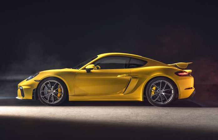 Porsche 718 Cayman GT4 and Spyder 1