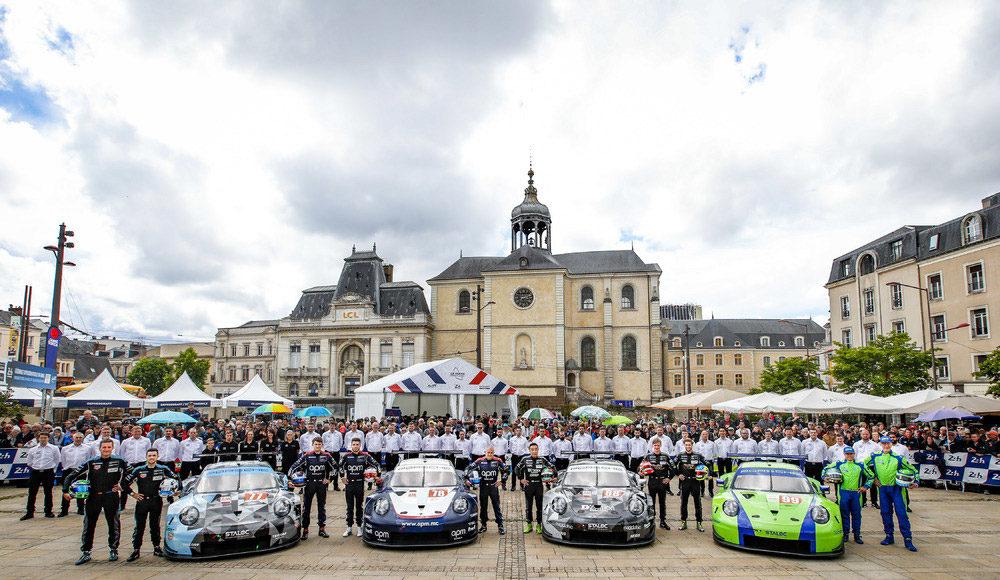 Porsche Customer Teams 2019 24 Hours of Le Mans 24