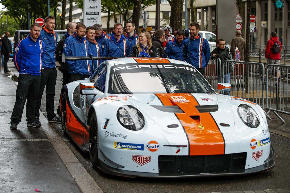 Porsche Customer Teams 2019 24 Hours of Le Mans 4