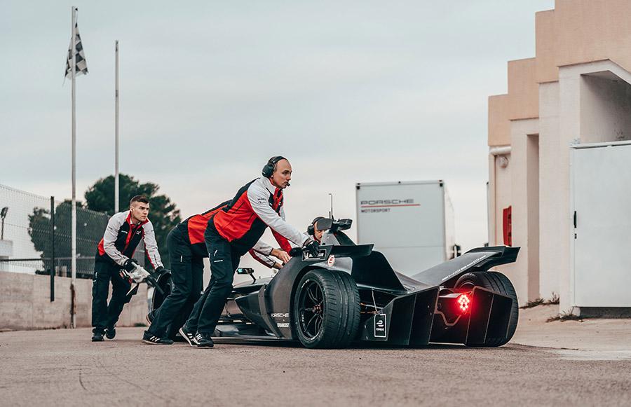 Porsche Formula E Powertrain 3