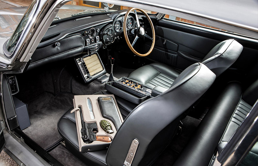 RM Sotheby's James Bond 1965 Aston Martin DB5 2
