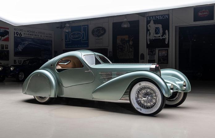 1935 Bugatti Aerolithe Type 57 at Atlanta Concours