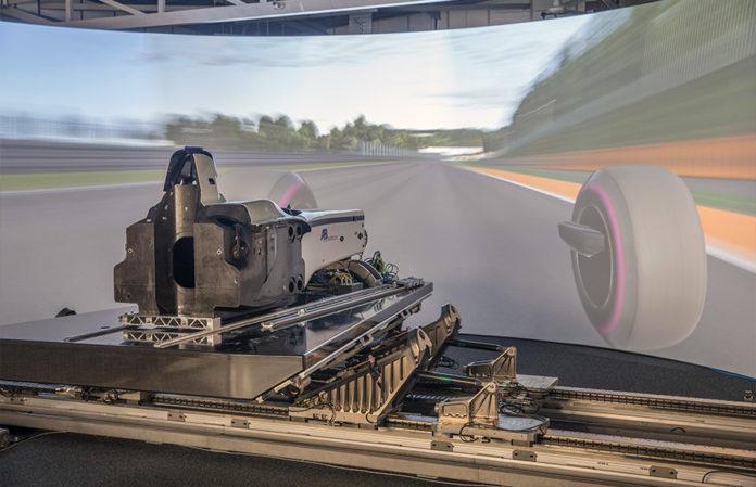 AB Dynamics Alfa Romeo Formula One Simulator