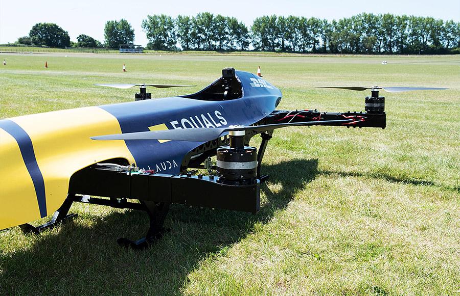 Airspeeder Quadcopter Race Goodwood 4