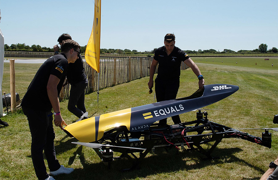 Airspeeder Quadcopter Race Goodwood 7