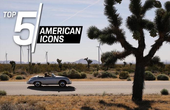 Porsche Top-5 American Icons