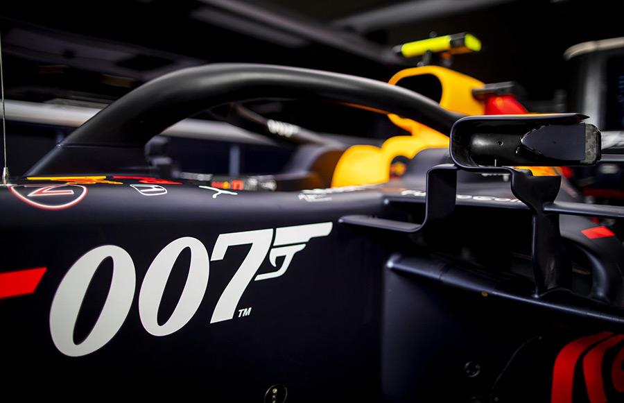 Aston Martin James Bond British Grand Prix