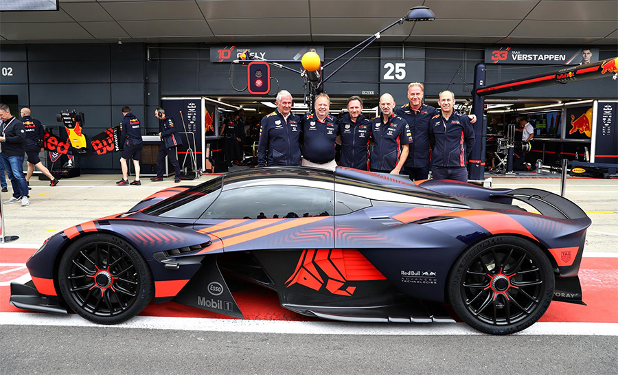 Aston Martin Valkyrie Laps Silverstone Circuit