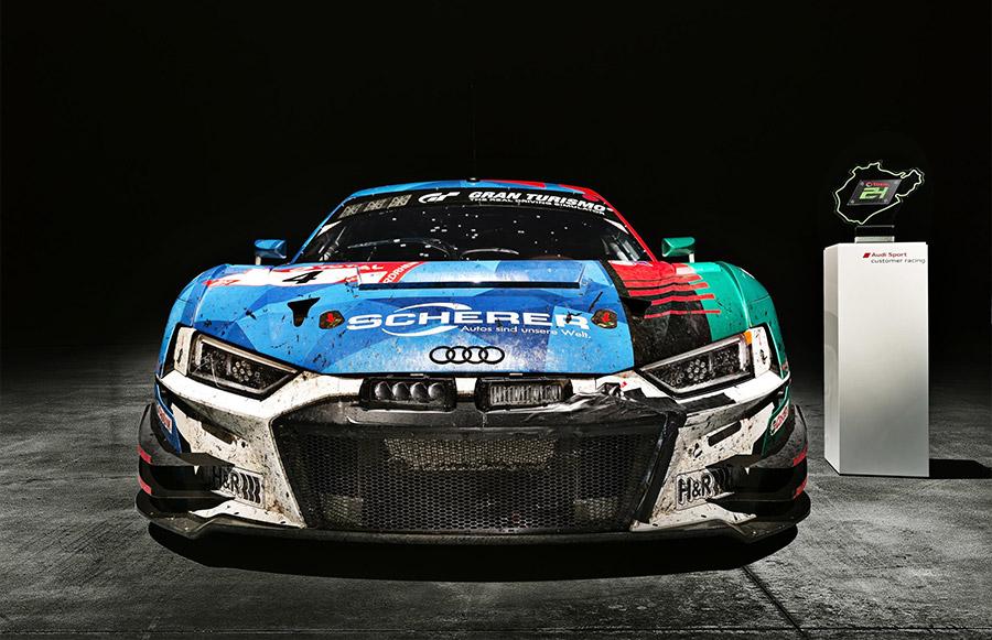 Audi R8 LMS 24 Hours of Nurburgring Victory