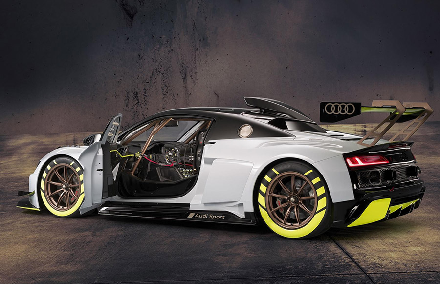 Premiere Of The Audi R8 Lms Gt2 At Goodwood Festival Of Speed