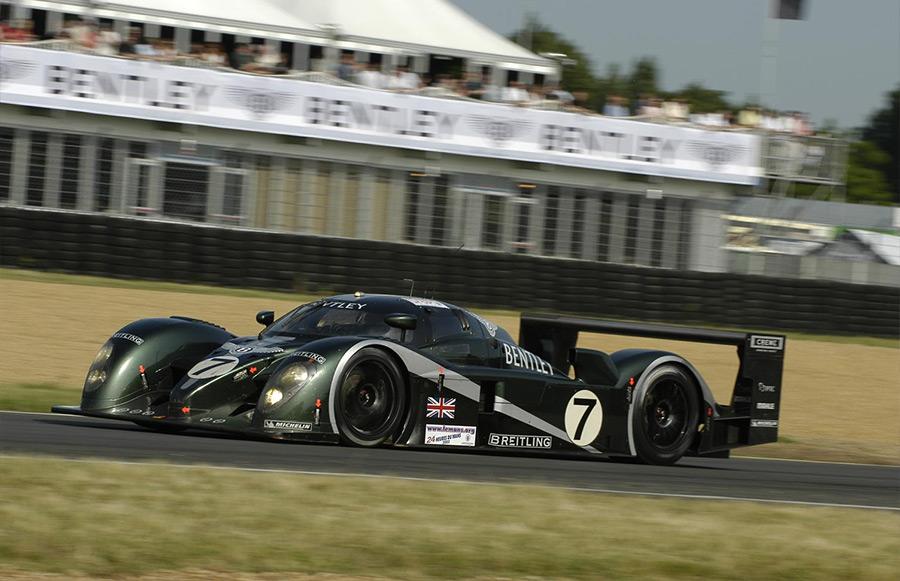 Bentley Speed 8 Prototype at Silverstone Classic