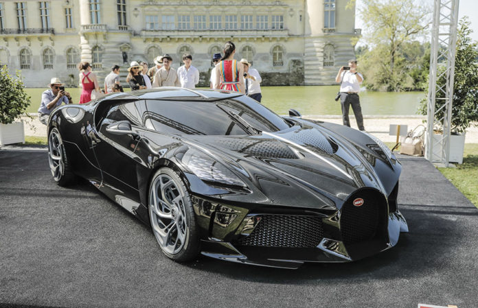 Bugatti La Voiture Noire at Chantilly 4