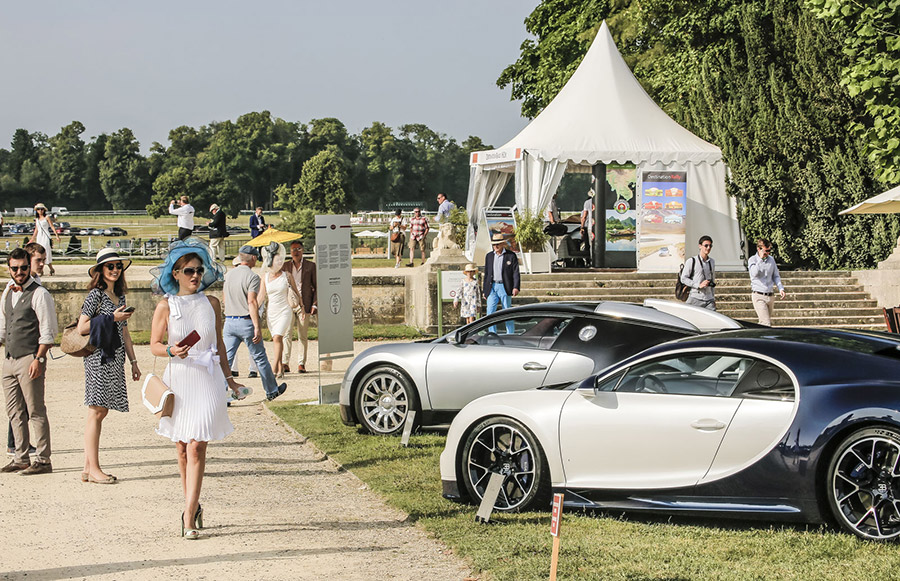 Bugatti La Voiture Noire at Chantilly 6