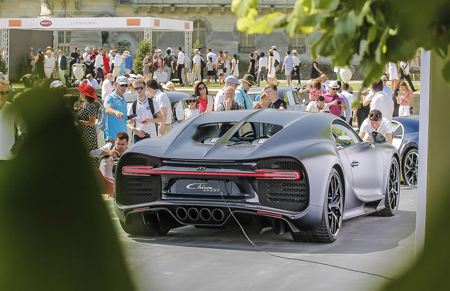 Bugatti La Voiture Noire at Chantilly 7