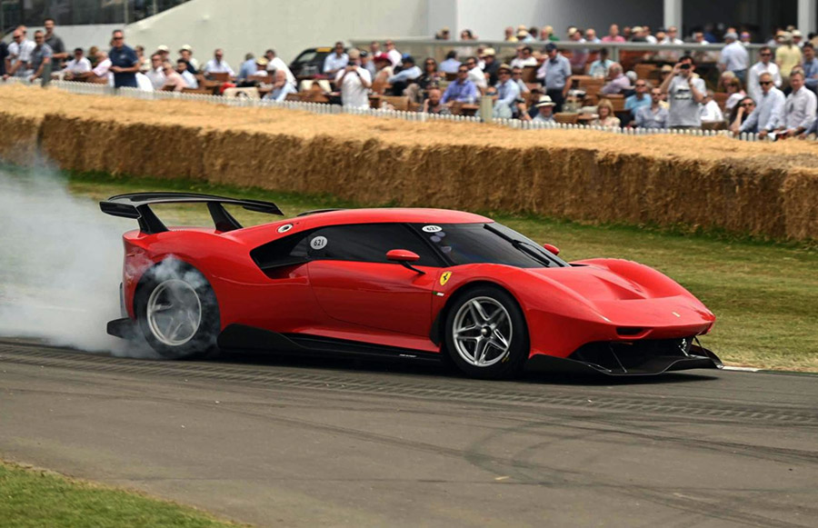 Ferrari at Goodwood Festival of Speed 2019