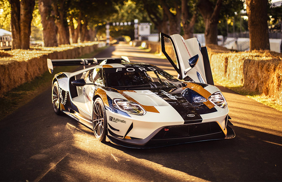 track  ford gt mk ii limited   vehicles  starts   million