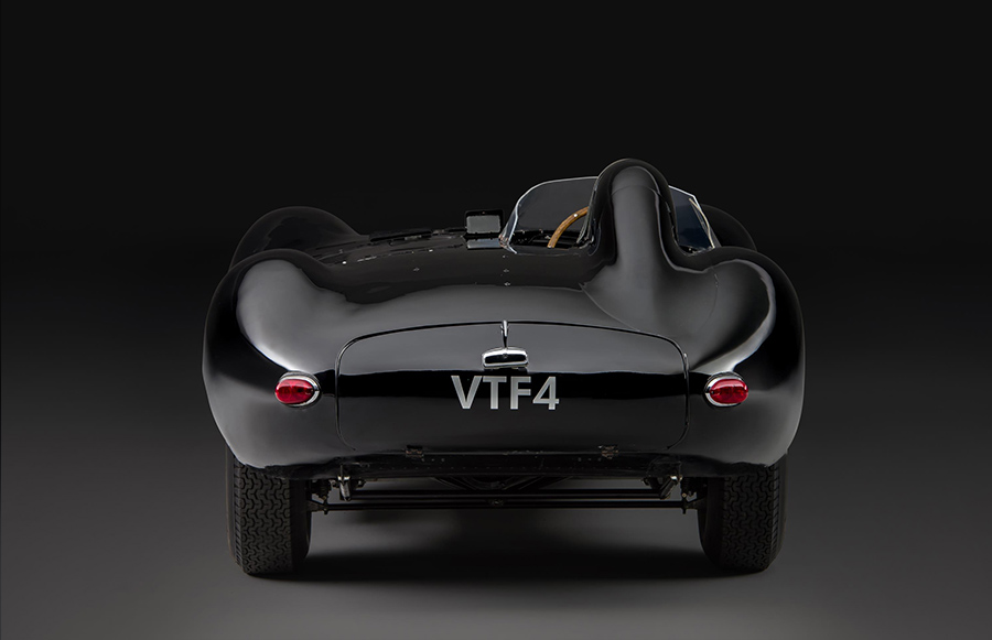 Jaguar D-Type at Concours of Elegance