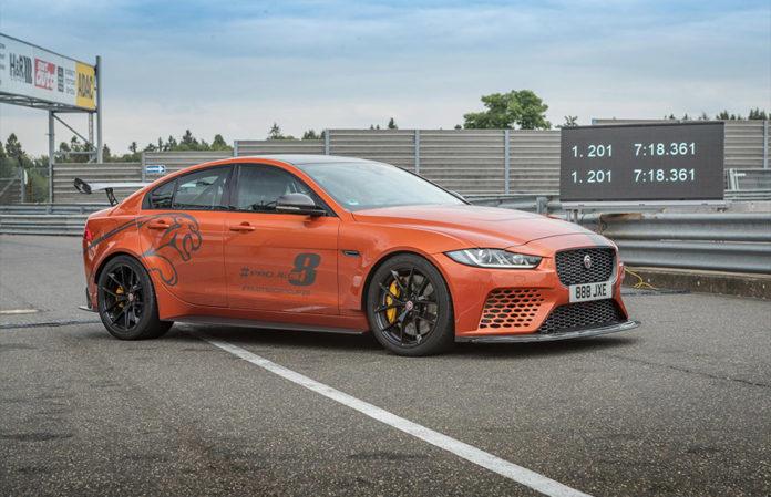 Jaguar XE SV Project 8 Nürburgring Nordschleife Record