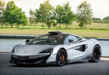 Last McLaren 600LT Celebrrates McLaren London