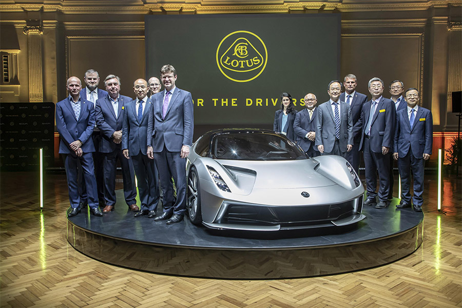 Lotus Unveils the Evija